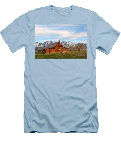 Teton Barn Men's T-Shirt (Slim Fit) by Steve Stuller