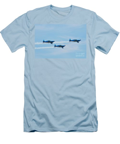 The Blades Aerobatic Team Men's T-Shirt (Athletic Fit)