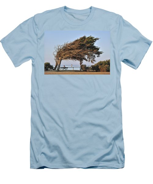 Men's T-Shirt (Slim Fit) featuring the photograph 120920p152 by Arterra Picture Library