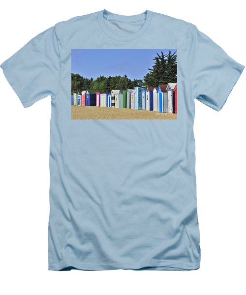 Men's T-Shirt (Slim Fit) featuring the photograph 130109p082 by Arterra Picture Library