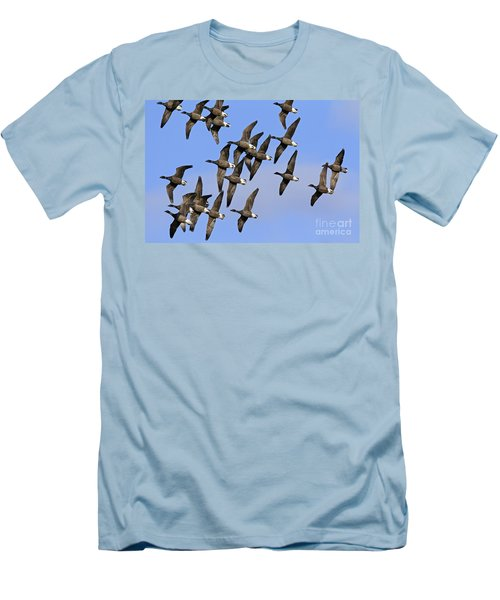 Men's T-Shirt (Slim Fit) featuring the photograph 130109p166 by Arterra Picture Library