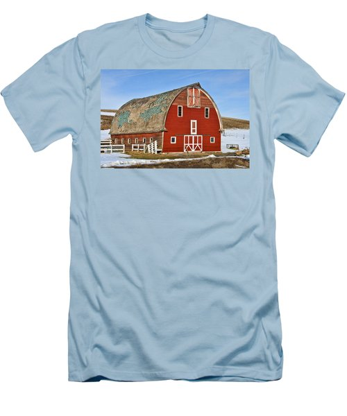 1927 Barn Men's T-Shirt (Athletic Fit)