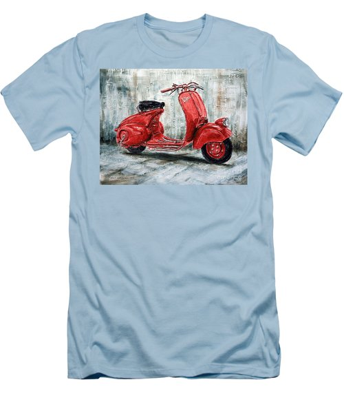 1947 Vespa 98 Scooter Men's T-Shirt (Athletic Fit)