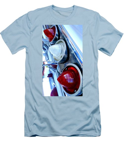 Men's T-Shirt (Slim Fit) featuring the photograph 1960 Chevrolet Impala by Joseph Skompski