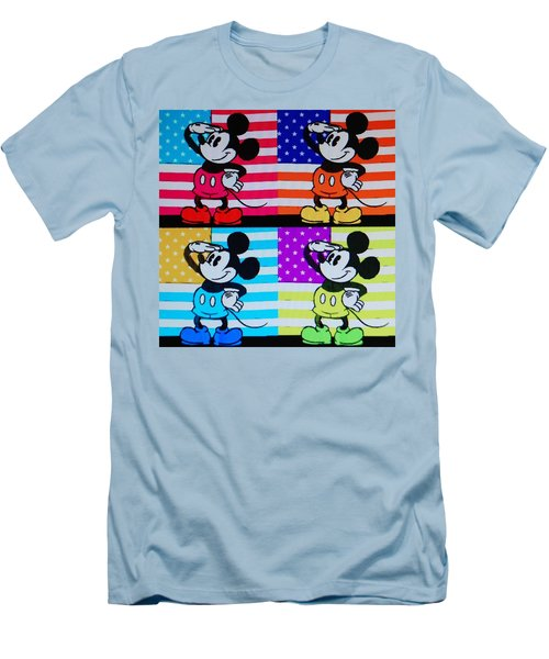 American Mickey Men's T-Shirt (Athletic Fit)