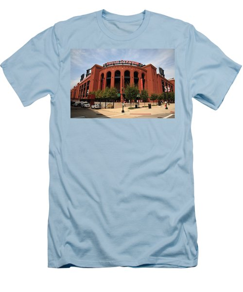 Busch Stadium - St. Louis Cardinals Men's T-Shirt (Athletic Fit)