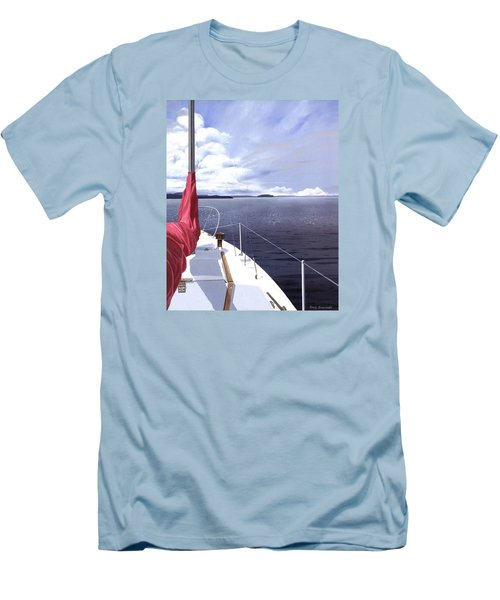 Cruising North Men's T-Shirt (Athletic Fit)