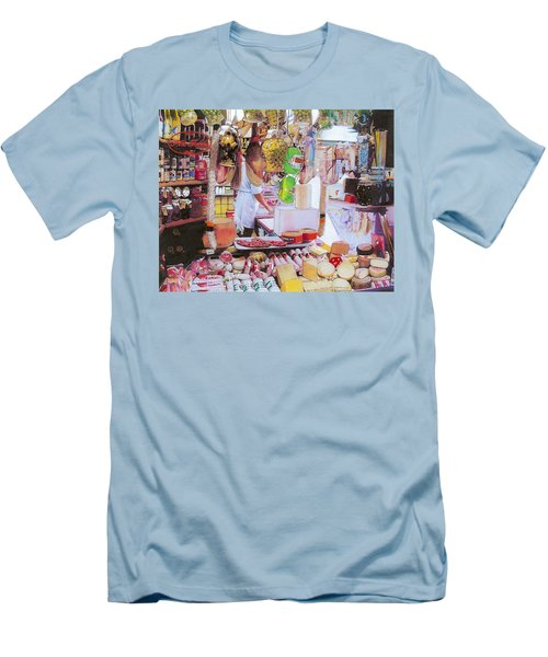 Deli On The Via Condotti Men's T-Shirt (Athletic Fit)