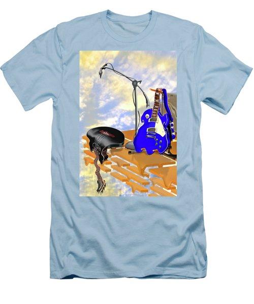 Electrical Meltdown II Men's T-Shirt (Slim Fit) by Mike McGlothlen