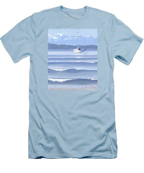 From The Beach Men's T-Shirt (Slim Fit) by Gary Giacomelli