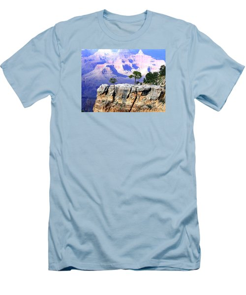 Grand Canyon 1 Men's T-Shirt (Slim Fit) by Will Borden