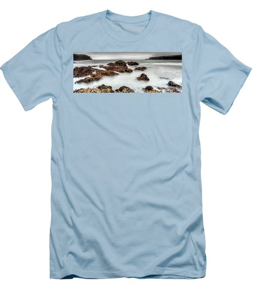 Grey Morning Men's T-Shirt (Slim Fit) by Steven Reed