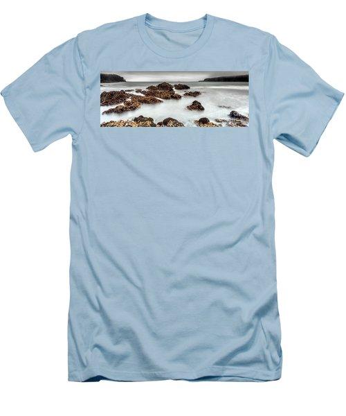 Grey Morning Men's T-Shirt (Athletic Fit)