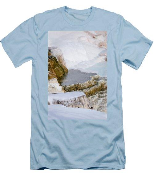 Mammoth Terraces Men's T-Shirt (Slim Fit)