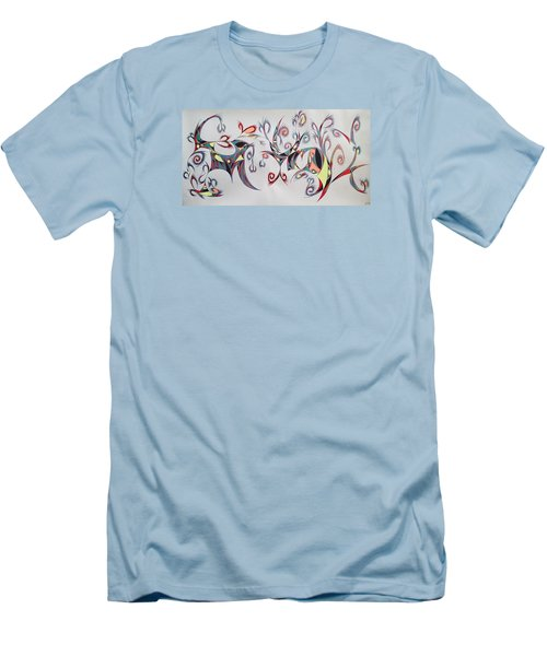 Orpheus Men's T-Shirt (Slim Fit) by Robert Nickologianis