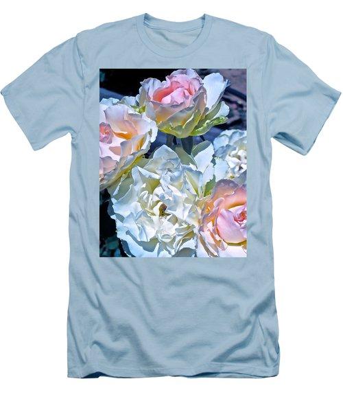 Rose 59 Men's T-Shirt (Slim Fit) by Pamela Cooper
