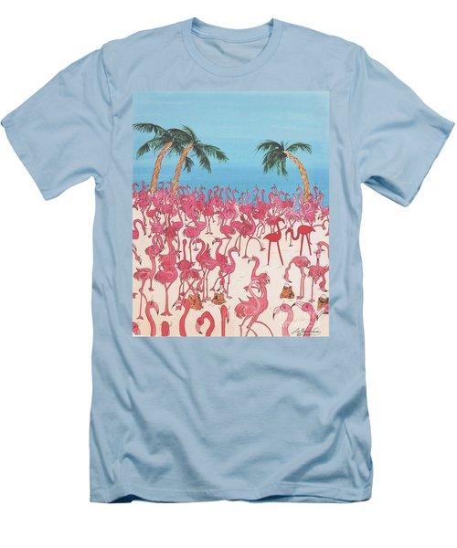 Royal Roost Men's T-Shirt (Slim Fit) by Lizi Beard-Ward