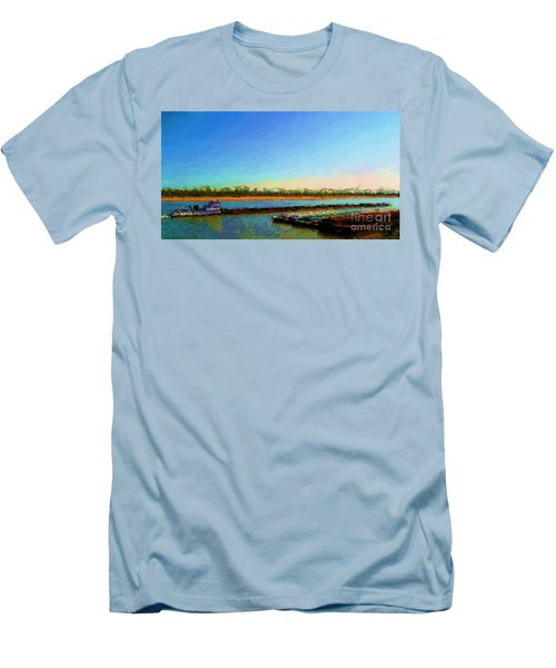 Men's T-Shirt (Slim Fit) featuring the photograph Slow And Steady by Kelly Awad
