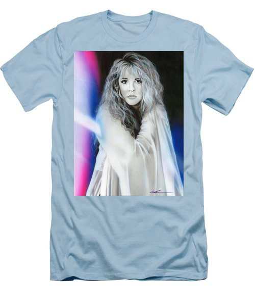 Stevie Nicks Men's T-Shirt (Athletic Fit)