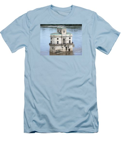 The Old Water House Men's T-Shirt (Slim Fit) by Kelly Awad