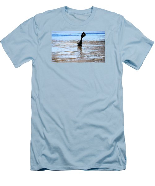 Waters Up Men's T-Shirt (Slim Fit) by Kelly Awad