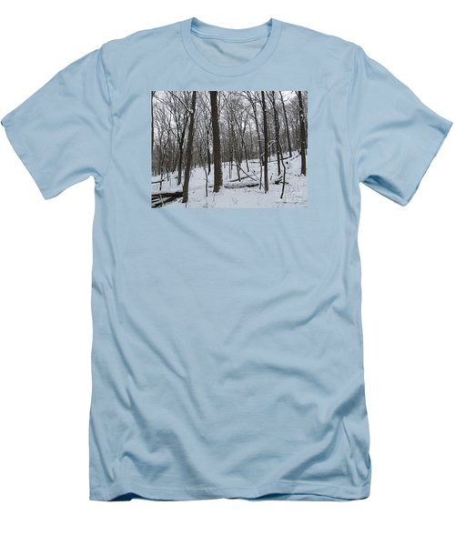 Winter Solitude Men's T-Shirt (Athletic Fit)