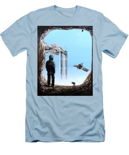 2012-confronting Inevitability Men's T-Shirt (Slim Fit) by Ryan Demaree