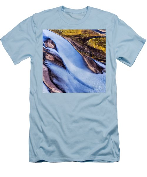 Aerial Photo Men's T-Shirt (Athletic Fit)