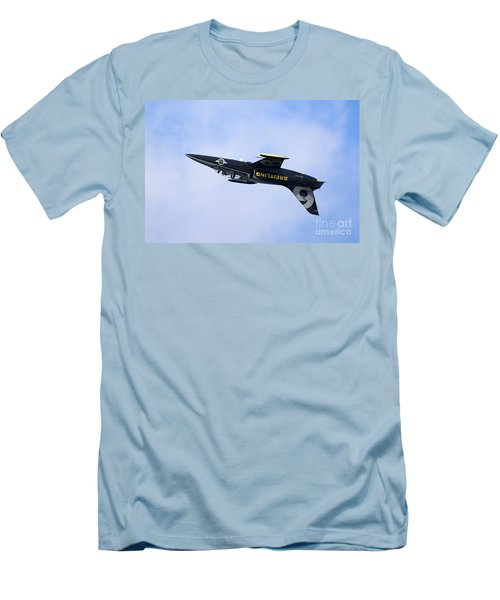 Breitling Air Display Team Men's T-Shirt (Slim Fit) by Nir Ben-Yosef