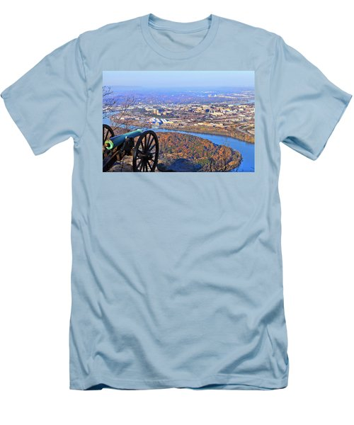 Chattanooga In Autumn Men's T-Shirt (Athletic Fit)