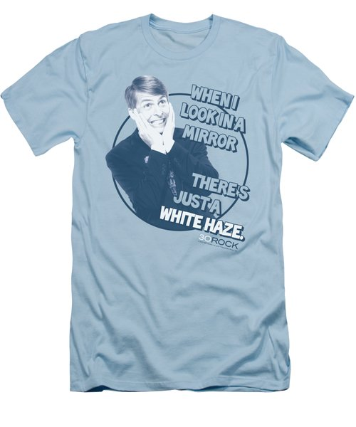 30 Rock - White Haze Men's T-Shirt (Slim Fit) by Brand A