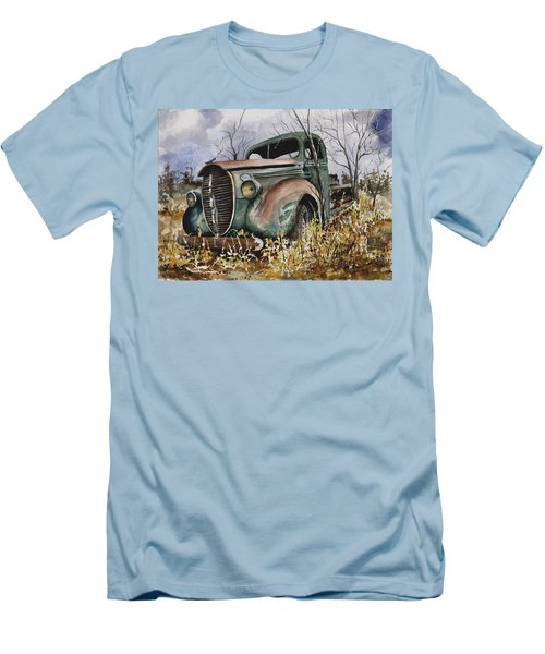 39 Ford Truck Men's T-Shirt (Slim Fit) by Sam Sidders