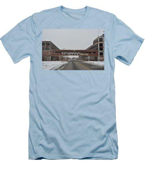 Detroit Packard Plant Men's T-Shirt (Slim Fit) by Randy J Heath