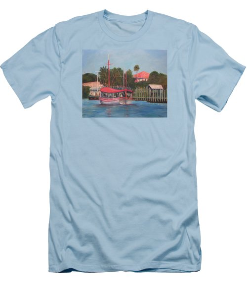 Tarpon Springs Florida Men's T-Shirt (Athletic Fit)