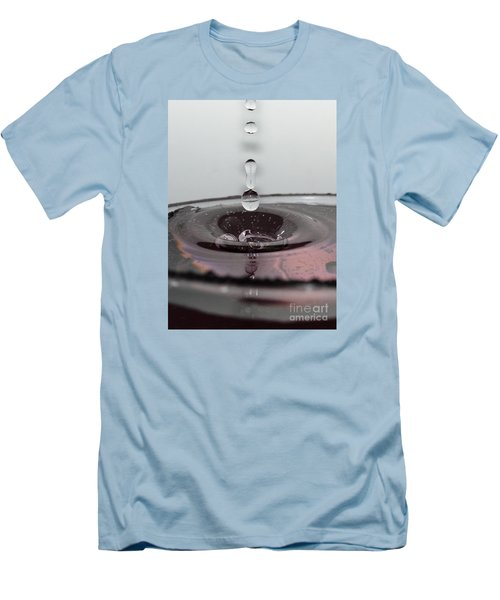 4 Water Drops Men's T-Shirt (Athletic Fit)