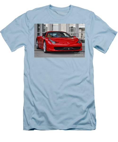 458 Italia Men's T-Shirt (Slim Fit) by Dennis Hedberg