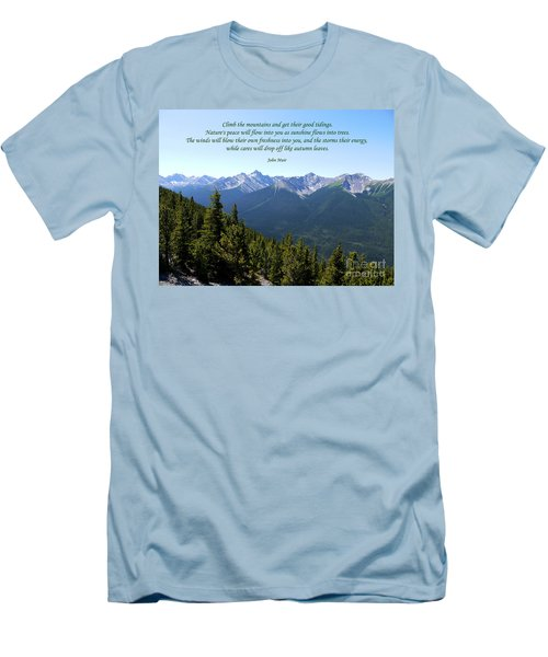 46- John Muir Men's T-Shirt (Athletic Fit)