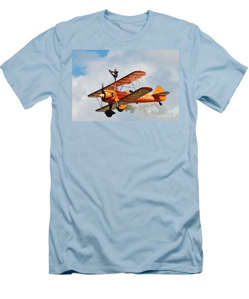 Breitling Wingwalkers Team Men's T-Shirt (Athletic Fit)