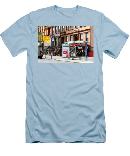 5th Ave And West 132nd Street Men's T-Shirt (Athletic Fit)
