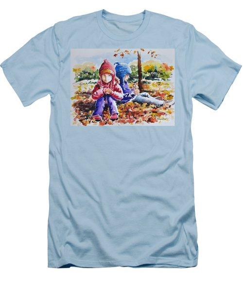 A Crop Of Good Friends Men's T-Shirt (Athletic Fit)