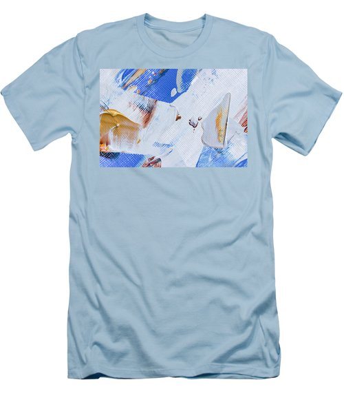 A Little Blue Men's T-Shirt (Slim Fit) by Heidi Smith