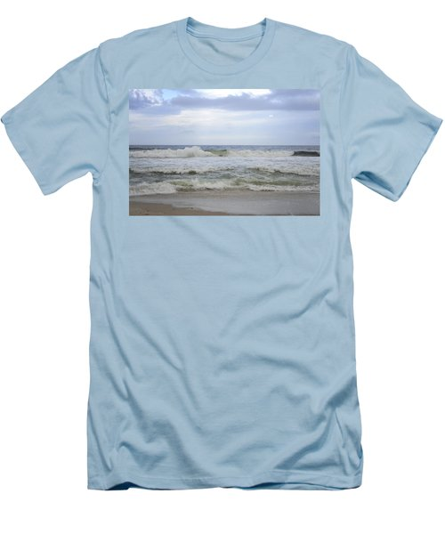 A Peek Of Blue Men's T-Shirt (Athletic Fit)