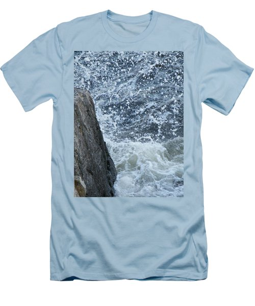 A Stillness In The Storm  Men's T-Shirt (Slim Fit) by Brian Boyle