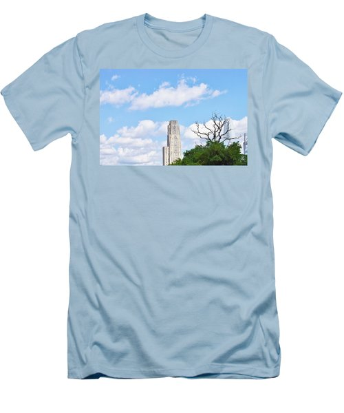 Men's T-Shirt (Slim Fit) featuring the photograph A Unique Perspective by Jean Goodwin Brooks