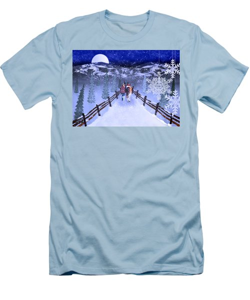 A Walk In The Snow 2 Men's T-Shirt (Athletic Fit)