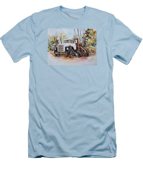 Abandoned Men's T-Shirt (Slim Fit) by P Anthony Visco