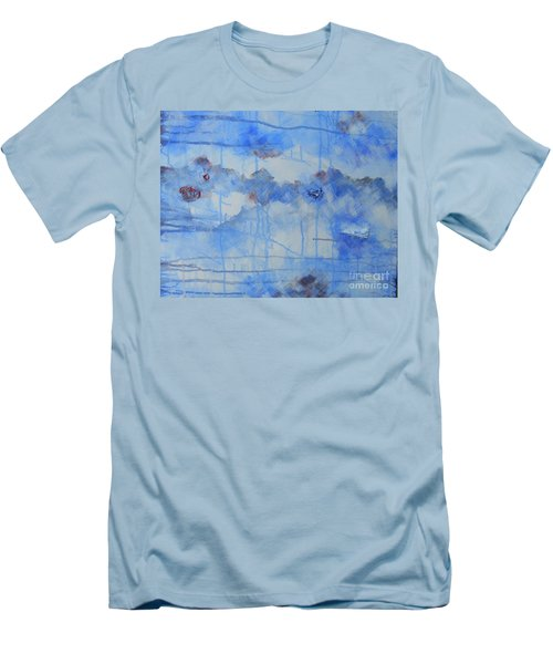Abstract # 3 Men's T-Shirt (Slim Fit) by Susan Williams