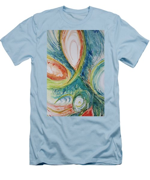 Abstract Chaos Men's T-Shirt (Athletic Fit)