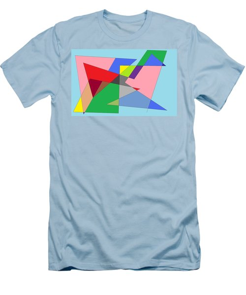 Abstract Men's T-Shirt (Slim Fit) by Ron Davidson