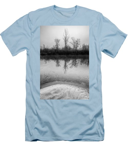 Across The Water Men's T-Shirt (Slim Fit) by Davorin Mance